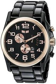 腕時計 ベスタル ヴェスタル メンズ DEV010 【送料無料】Vestal Men's DEV010 De Novo Black/Rose Gold Watch腕時計 ベスタル ヴェスタル メンズ DEV010
