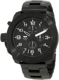 腕時計 ベスタル ヴェスタル メンズ RES006 【送料無料】Vestal Men's RES006 Restrictor Stainless Steel Chronograph Watch腕時計 ベスタル ヴェスタル メンズ RES006