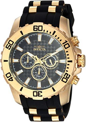 インヴィクタ インビクタ プロダイバー 腕時計 メンズ 22557 Invicta Men's 'Pro Diver' Quartz Stainless Steel and Silicone Casual Watch, Color:Two Tone (Model: 22557)インヴィクタ インビクタ プロダイバー 腕時計 メンズ 22557
