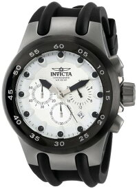 インヴィクタ インビクタ サブアクア 腕時計 メンズ 13778 Invicta Men's 13778 Subaqua Chronograph White Dial Black Rubber Strap Watchインヴィクタ インビクタ サブアクア 腕時計 メンズ 13778