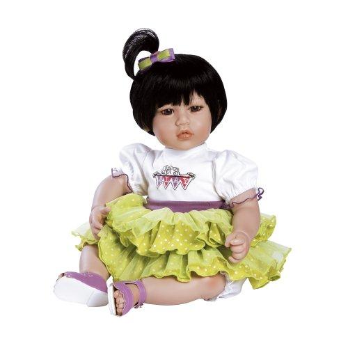 """アドラベビードール 赤ちゃん リアル 本物そっくり おままごと 20014009 Adora Toddler Twist Of Lime 20"""" Girl Weighted Doll Gift Set for Children 6+ Huggable Vinyl Cuddly Snuggle Soft Bodアドラベビードール 赤ちゃん リアル 本物そっくり おままごと 20014009"""