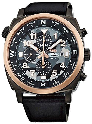 オリエント 腕時計 メンズ FTT17003B ORIENT Sporty Quartz Chronograph 100M Pilot Watch Camouflage TT17003Bオリエント 腕時計 メンズ FTT17003B
