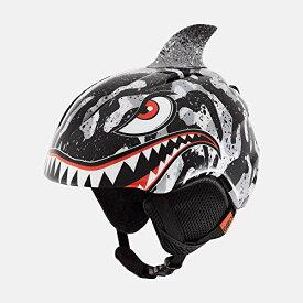 スノーボード ウィンタースポーツ 海外モデル ヨーロッパモデル アメリカモデル Giro 【送料無料】Giro Launch Plus Youth Snow Helmet - Black/Grey Tiger Shark - Size XS (4スノーボード ウィンタースポーツ 海外モデル ヨーロッパモデル アメリカモデル Giro