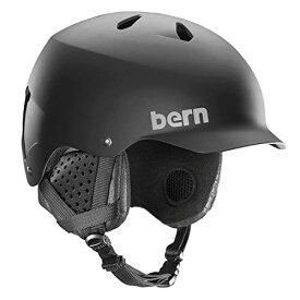 スノーボード ウィンタースポーツ 海外モデル ヨーロッパモデル アメリカモデル SM05E17MBK1 【送料無料】BERN, Winter Watts EPS Snow Helmet, Matte Black with Blackスノーボード ウィンタースポーツ 海外モデル ヨーロッパモデル アメリカモデル SM05E17MBK1