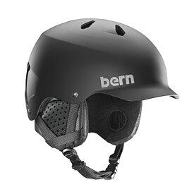 スノーボード ウィンタースポーツ 海外モデル ヨーロッパモデル アメリカモデル SM05E17MBK2 【送料無料】BERN, Winter Watts EPS Snow Helmet, Matte Black with Blackスノーボード ウィンタースポーツ 海外モデル ヨーロッパモデル アメリカモデル SM05E17MBK2
