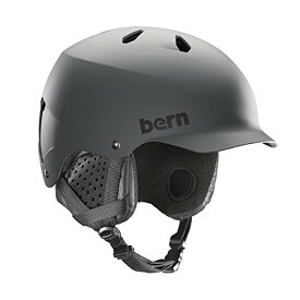 スノーボード ウィンタースポーツ 海外モデル ヨーロッパモデル アメリカモデル SM05E17MGR2 【送料無料】BERN, Winter Watts EPS Snow Helmet, Matte Grey with Black スノーボード ウィンタースポーツ 海外モデル ヨーロッパモデル アメリカモデル SM05E17MGR2