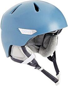 スノーボード ウィンタースポーツ 海外モデル ヨーロッパモデル アメリカモデル SW10ZSATB11 【送料無料】Bern Women's Hepburn Snow Helmet (Satin Atlantic Blue, X-Sスノーボード ウィンタースポーツ 海外モデル ヨーロッパモデル アメリカモデル SW10ZSATB11