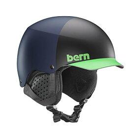 スノーボード ウィンタースポーツ 海外モデル ヨーロッパモデル アメリカモデル SM04E17MBH1 【送料無料】Bern Baker Snow Helmet (Matte Blue Hatstyle with Black Linスノーボード ウィンタースポーツ 海外モデル ヨーロッパモデル アメリカモデル SM04E17MBH1