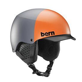 スノーボード ウィンタースポーツ 海外モデル ヨーロッパモデル アメリカモデル SM04E17MGH1 【送料無料】Bern Baker Snow Helmet (Matte Grey Hatstyle with Black Linスノーボード ウィンタースポーツ 海外モデル ヨーロッパモデル アメリカモデル SM04E17MGH1