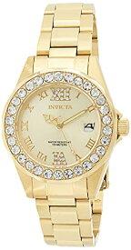 インヴィクタ インビクタ プロダイバー 腕時計 レディース 15252 Invicta Women's 15252 Pro Diver Gold Dial Gold-Plated Stainless Steel Watchインヴィクタ インビクタ プロダイバー 腕時計 レディース 15252
