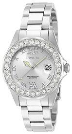 インヴィクタ インビクタ プロダイバー 腕時計 レディース 15251 【送料無料】Invicta Women's 15251 Pro Diver Silver Dial Crystal Accented Stainless Steel Watchインヴィクタ インビクタ プロダイバー 腕時計 レディース 15251