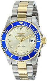 """インヴィクタ インビクタ プロダイバー 腕時計 メンズ ILE8928OBASYB Invicta Men's ILE8928OBASYB Limited Edition """"Pro Diver"""" Two-Tone Automatic Watch with Link Braceletインヴィクタ インビクタ プロダイバー 腕時計 メンズ ILE8928OBASYB"""
