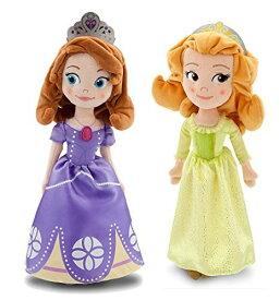 ちいさなプリンセス ソフィア ディズニージュニア Disney Sofia the First Sofia & Amber stuffed two-point set doll 13 inches 33cm parallel import goodsちいさなプリンセス ソフィア ディズニージュニア