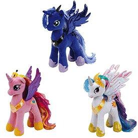 【送料無料】マイリトルポニー My Littele Pony Ty プリンセス セレスティア ケイデンス ルナのセット 8インチ