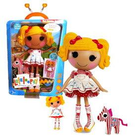 ララループシー 人形 ドール 【送料無料】Lalaloopsy MGA Entertainment Sew Magical! Sew Cute! Limited Edition 12 Inch Tall Button Doll - Spot Splatter Splash with Pet Zebra and Bonus Mini 3 Inch Tall Dollララループシー 人形 ドール