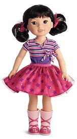 【送料無料】アメリカンガール ウェリーウィッシャーズ エマーソンドール ピンクのブーツ サイズ約36.8cm American Girl WellieWishers