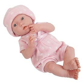 """ジェーシートイズ 赤ちゃん おままごと ベビー人形 18537 【送料無料】La Newborn Boutique - Realistic 15"""" Anatomically Correct Real GIRL Baby Doll ? All Vinyl """"Pink Knit"""" Designed by Berenジェーシートイズ 赤ちゃん おままごと ベビー人形 18537"""