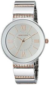 腕時計 アンクライン レディース AK/2947SMRT 【送料無料】Anne Klein Women's AK/2947SMRT Swarovski Crystal Accented Two-Tone Bracelet Watch腕時計 アンクライン レディース AK/2947SMRT