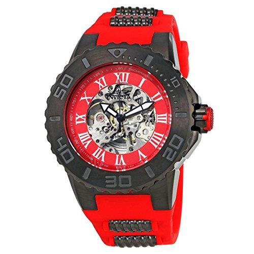 インヴィクタ インビクタ プロダイバー 腕時計 メンズ 24743 Invicta Men's 'Pro Diver' Automatic Stainless Steel Casual Watch, Color:red (Model: 24743)インヴィクタ インビクタ プロダイバー 腕時計 メンズ 24743
