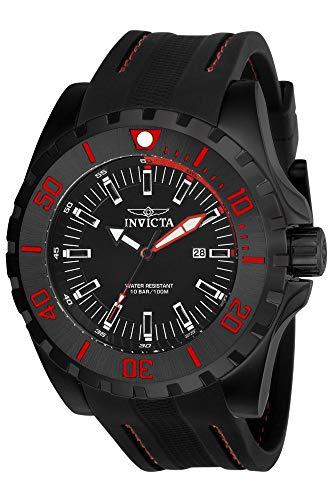 インヴィクタ インビクタ プロダイバー 腕時計 メンズ 23735 Invicta Men's 'Pro Diver' Quartz Stainless Steel and Polyurethane Casual Watch, Color:Black (Model: 23735)インヴィクタ インビクタ プロダイバー 腕時計 メンズ 23735