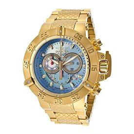 インヴィクタ インビクタ サブアクア 腕時計 メンズ 80527 Invicta Subaqua Chronograph Platinum Dial Yellow Gold-plated Mens Watch 80527インヴィクタ インビクタ サブアクア 腕時計 メンズ 80527