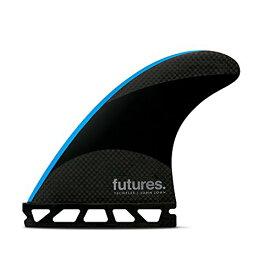 サーフィン フィン マリンスポーツ 【送料無料】Futures Fins - JJ-2 SMALLTECHFLEX Thruster - Black/NEON Blueサーフィン フィン マリンスポーツ