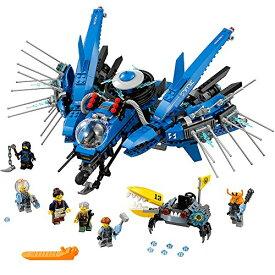 レゴ ニンジャゴー 6136342 LEGO Ninjago Movie Lightning Jet 70614 Building Kit (876 Piece)レゴ ニンジャゴー 6136342