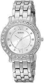 ゲス GUESS 腕時計 レディース U1062L1 GUESS Women's Stainless Steel Crystal Watch, Color: Silver-Tone (Model: U1062L1)ゲス GUESS 腕時計 レディース U1062L1