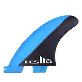 サーフィン フィン マリンスポーツ 【送料無料】FCS II MF Mick Fanning PC Medium Surfboard Tri 3 Fin Set, Blue-Black, Mediumサーフィン フィン マリンスポーツ
