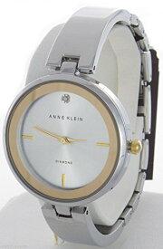 アンクライン 腕時計 レディース AK/1725SVTT 【送料無料】Anne Klein Women's Silver Dial Bangle Bracelet Quartz Watch AK/1725SVTTアンクライン 腕時計 レディース AK/1725SVTT