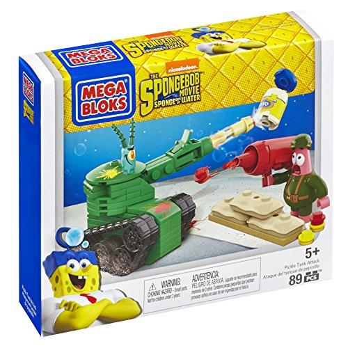 メガブロック スポンジボブ 組み立て 知育玩具 CND24 Mega Bloks SpongeBob Pickle Tank Attack Building Setメガブロック スポンジボブ 組み立て 知育玩具 CND24