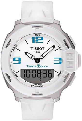 ティソ 腕時計 メンズ Tissot T-Race White Dial Watch T081.420.17.017.01ティソ 腕時計 メンズ