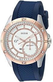 ゲス GUESS 腕時計 レディース C2002L2 GUESS Women's Stainless Steel Connect Fitness Tracker Silicone Watch, Color: Navy Blue (Model: C2002L2)ゲス GUESS 腕時計 レディース C2002L2