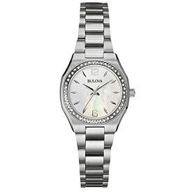 ブローバ 腕時計 レディース 96w199 Bulova Ladies 96W199 Stainless Steel and Diamond Watch with a Mother of Pearl Dialブローバ 腕時計 レディース 96w199