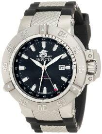 インヴィクタ インビクタ サブアクア 腕時計 メンズ 1152 Invicta Men's 1152 Subaqua Noma III GMT Black Sunray Dial Black Polyurethane Watchインヴィクタ インビクタ サブアクア 腕時計 メンズ 1152