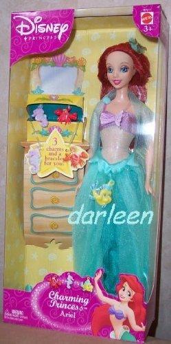 リトル・マーメイド アリエル ディズニープリンセス 人魚姫 The Little Mermaid CHARMING PRINCESS ARIEL doll Mattel 2003リトル・マーメイド アリエル ディズニープリンセス 人魚姫