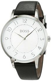 ヒューゴボス 高級腕時計 レディース 1502408 Hugo Boss Eclipse Silver Dial Leather Strap Ladies Watch 1502408ヒューゴボス 高級腕時計 レディース 1502408