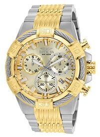 腕時計 インヴィクタ インビクタ ボルト メンズ 25864 【送料無料】Invicta Men's Bolt 51mm Steel and Gold Tone Stainless Steel Chronograph Quartz Watch, Two Tone (Model: 25864)腕時計 インヴィクタ インビクタ ボルト メンズ 25864