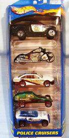 ホットウィール マテル ミニカー ホットウイール 【送料無料】Hot Wheels Police Cruisers 5 Car Gift Pack - Contains 5 1:64 Scale Collectible Die Cast Carsホットウィール マテル ミニカー ホットウイール
