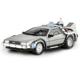 ホットウィール マテル ミニカー ホットウイール BCK08 【送料無料】Hot Wheels BCK08 Delorean DMC-12 Back to The Future Time Machine with Mr. Fusion 1/43 Diecast Model Car by Hotwheelsホットウィール マテル ミニカー ホットウイール BCK08