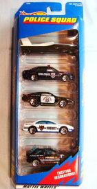 ホットウィール マテル ミニカー ホットウイール 【送料無料】Hot Wheels Police Squad 5 Car Gift Pack 1:64 Scale Collectible Die Cast Carsホットウィール マテル ミニカー ホットウイール