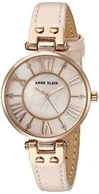 腕時計 アンクライン レディース AK/2718RGPK 【送料無料】Anne Klein Women's Quartz Metal and Leather Dress Watch, Color:Pink腕時計 アンクライン レディース AK/2718RGPK