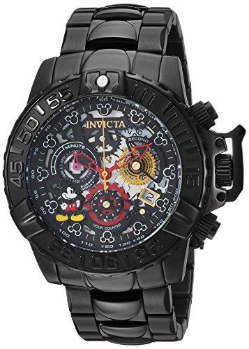 インヴィクタ インビクタ 腕時計 メンズ ディズニー 24505 Invicta Men's 'Disney Limited Edition' Quartz Stainless Steel Casual Watch, Color:Black (Model: 24505)インヴィクタ インビクタ 腕時計 メンズ ディズニー 24505