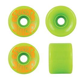 ウィール タイヤ スケボー スケートボード 海外モデル 【送料無料】OJ Wheels Super Juice Green / Orange Longboard Skateboard Wheels - 60mm 78a (Set of 4)ウィール タイヤ スケボー スケートボード 海外モデル