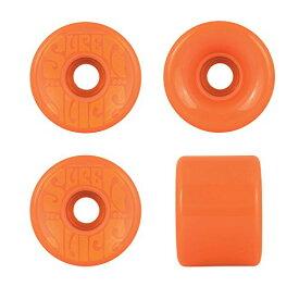 ウィール タイヤ スケボー スケートボード 海外モデル 【送料無料】OJ Wheels Super Juice Black / Orange Longboard Skateboard Wheels - 60mm 78a (Set of 4)ウィール タイヤ スケボー スケートボード 海外モデル