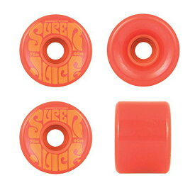 ウィール タイヤ スケボー スケートボード 海外モデル 【送料無料】OJ Wheels Super Juice Red / Orange Longboard Skateboard Wheels - 60mm 78a (Set of 4)ウィール タイヤ スケボー スケートボード 海外モデル