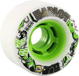 ウィール タイヤ スケボー スケートボード 海外モデル Venom Harlot Cobra Core White / Green Skateboard Wheels - 70mm 80a (Set of 4)ウィール タイヤ スケボー スケートボード 海外モデル