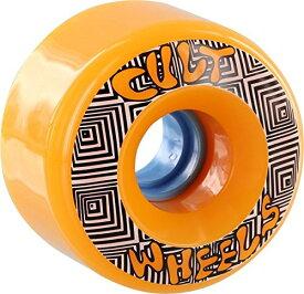 ウィール タイヤ スケボー スケートボード 海外モデル 【送料無料】Cult Converter 70mm 85a Orange Longboard Wheels (Set of 4)ウィール タイヤ スケボー スケートボード 海外モデル