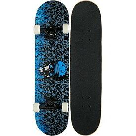 スタンダードスケートボード スケボー 海外モデル 直輸入 KPC-303 【送料無料】KPC Pro Skateboard Complete, Blue Flameスタンダードスケートボード スケボー 海外モデル 直輸入 KPC-303