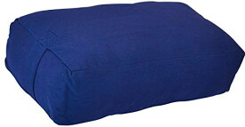 ヨガ フィットネス Y042BOLBLU03 【送料無料】YogaAccessories Supportive Rectangular Cotton Yoga Bolster (Blue)ヨガ フィットネス Y042BOLBLU03
